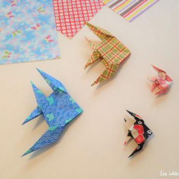 Comment faire un poisson ange en origami?