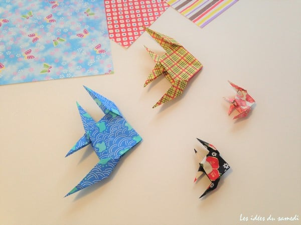 Comment faire un poisson ange en origami - Comment faire origami ...