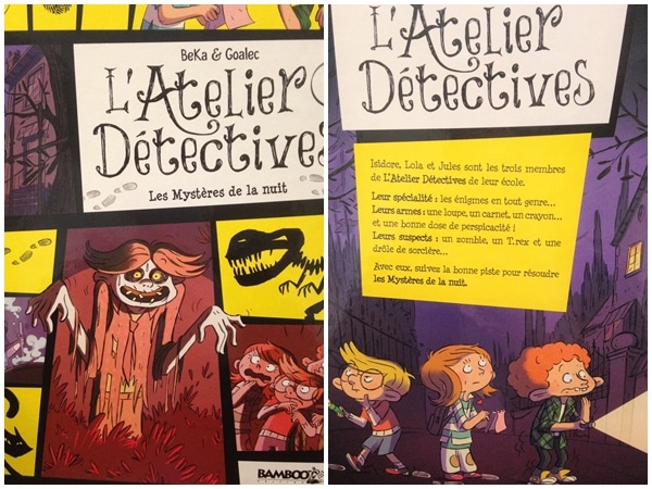 L'Atelier Détectives, une BD où l'imagination des enfants transforme le quotidien en aventure