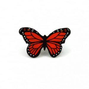 broche-papillon-monarque-orange-et-noir