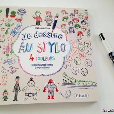 Un stylo 4 couleurs suffit pour dessiner, dans son cahier ou ailleurs