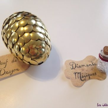 Fabriquer un œuf de dragon en or!