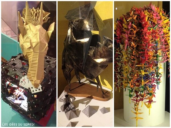 artiste origami exposition blois