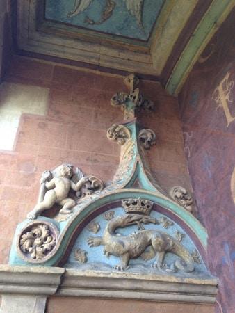balcon chateau blois