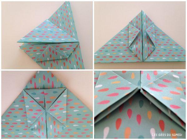 etape3 pliage lapin origami 3d