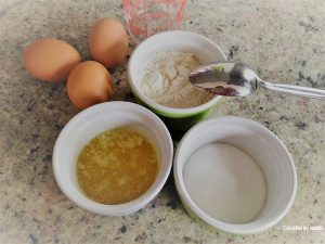 ingredients muffin blancs oeufs