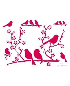 photo: ADeuxMains, oiseaux et cerisier