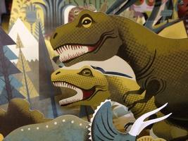 livre popup dinosaures