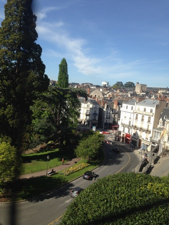 vue ville chateau blois