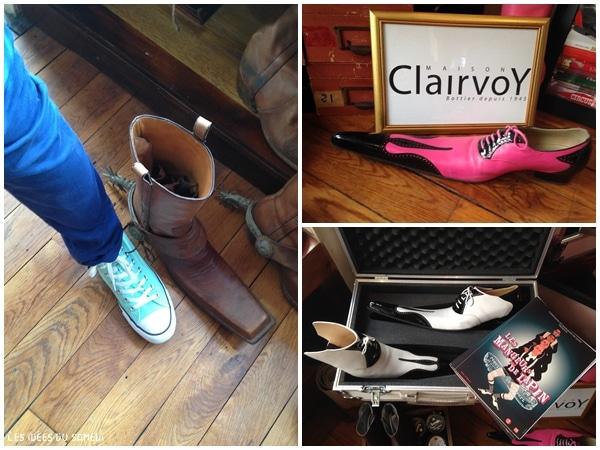 chaussure demesuree clairvoy