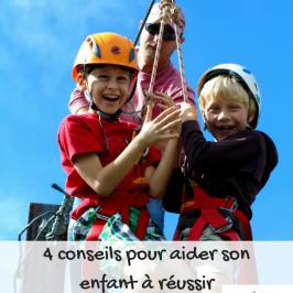 conseil reussir enfant