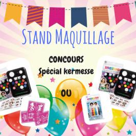 Kermesse: astuces pour le stand maquillage (+concours avec Snazaroo!)