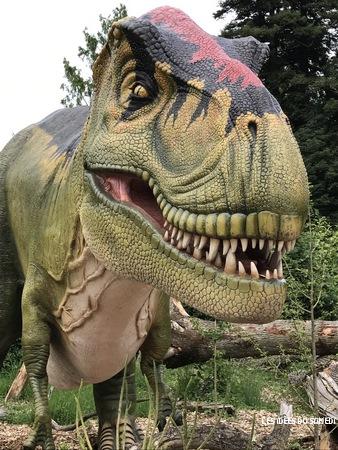 tyrex thoiry dinozoore
