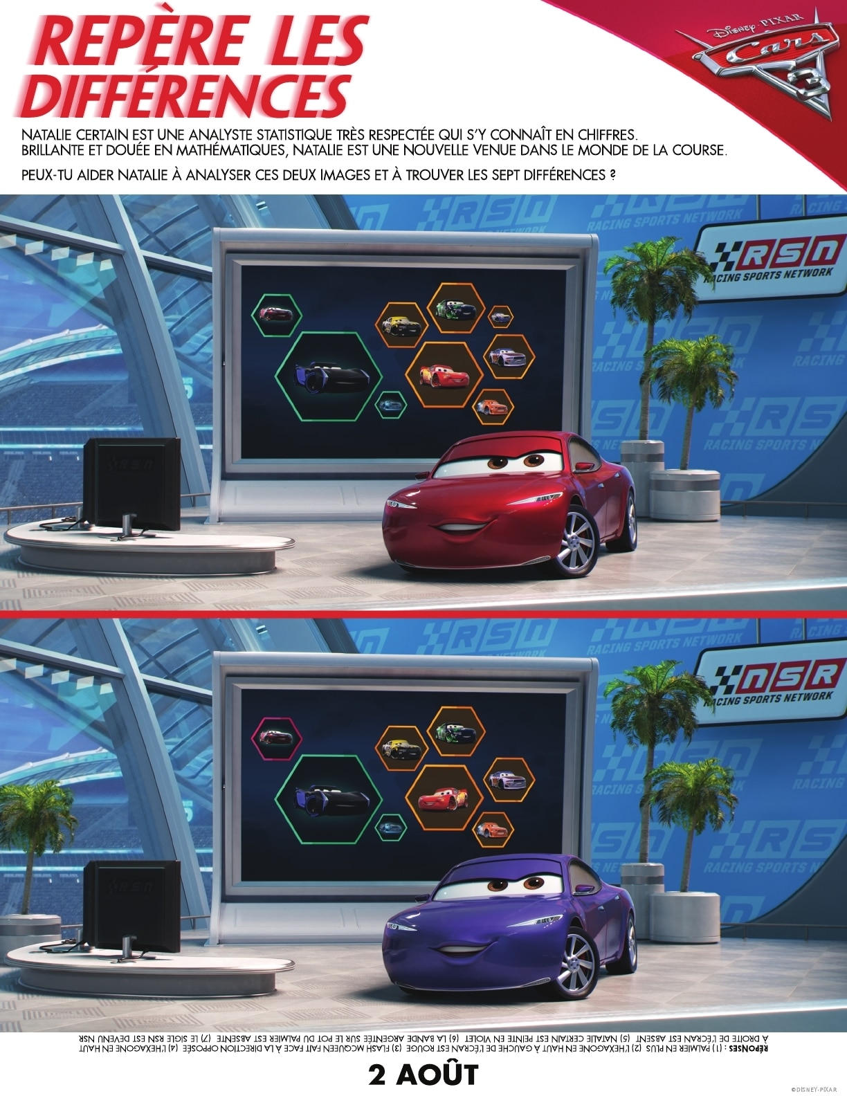 s lection shopping avec les h ros de cars3 2 jeux cars 3 t l charger. Black Bedroom Furniture Sets. Home Design Ideas