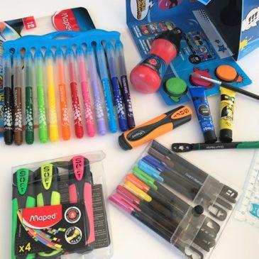On prépare les fournitures scolaires avec Maped (+bons plans)