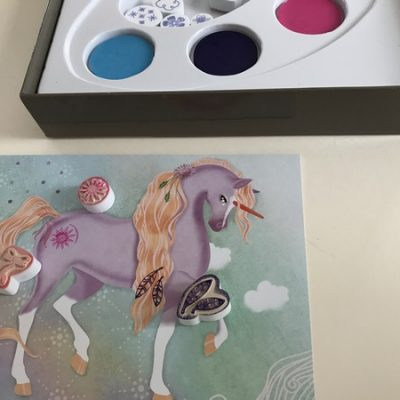 chevaux tampons coffret