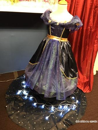 robe bleue deguisement cesar