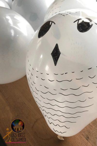 ballon harry potter chouette