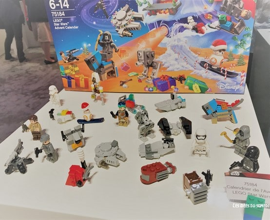 calendrier avent lego starwars 2017