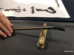 calligraphe japonais