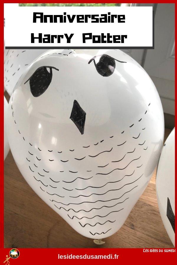 chouette ballon harrypotter