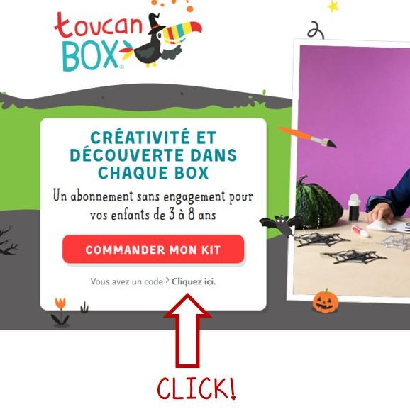 code toucan box