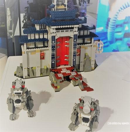 detail chateau lego ninjago