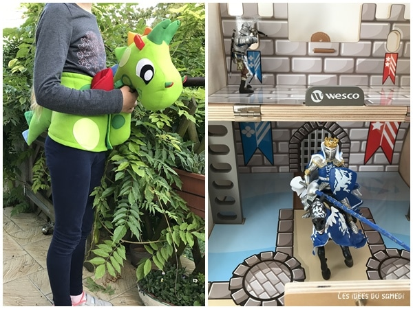 Dragons, chevaliers: l'imaginaire est gâté avec Wesco family!