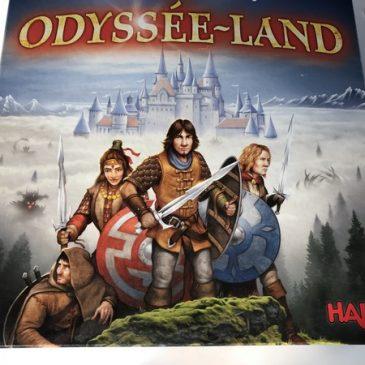 Odyssee Land: jeu de société pour la famille à partir de 10 ans, Haba