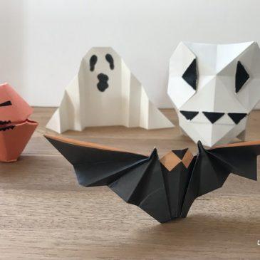 Origami d'Halloween: un nouveau livre de pliages simples