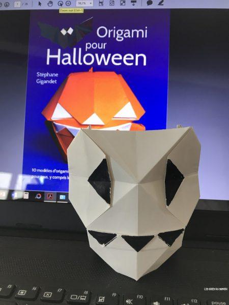 origami halloween livre
