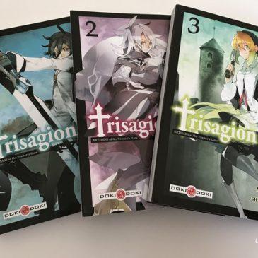 Je découvre un manga avec mon ado: Trisagion