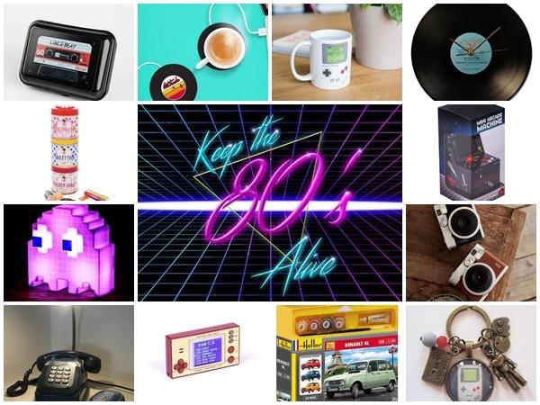 cadeaux retro 80s