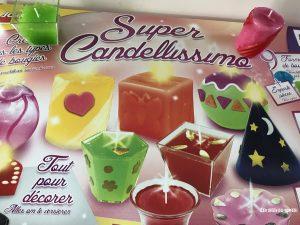 coffret super candellissimo bougies