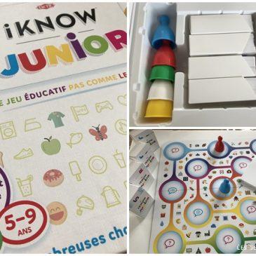 Un jeu d'entraide et de connaissances: I Know Junior de Tactic Games
