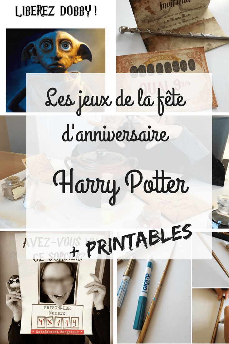 les activit s de la f te d 39 anniversaire harry potter pisode 2. Black Bedroom Furniture Sets. Home Design Ideas