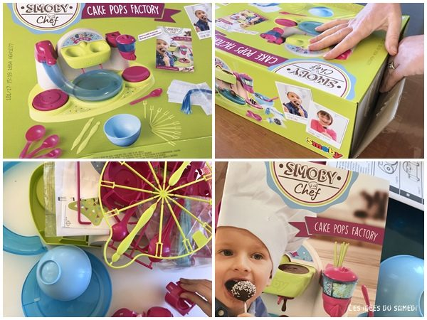 unboxing smoby cakepop