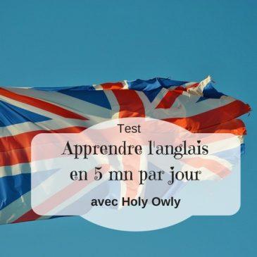 Une application pour apprendre l'anglais en 5 mn par jour