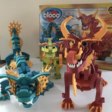 Notre test du jeu de construction et puzzle 3D: les dragons Bloco