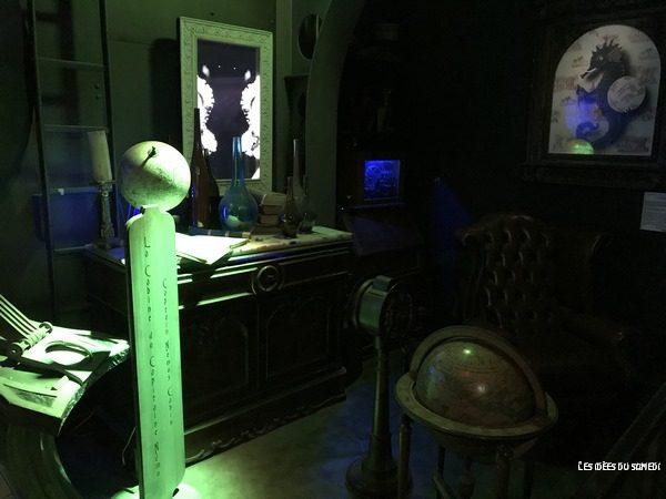 cabine nemo aquarium