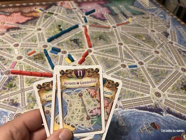 cartes objectif routes