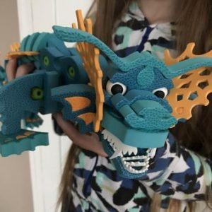 dragon aqua bloco