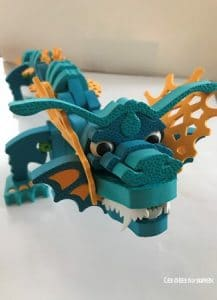 dragon bloco bleu