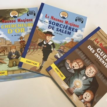 Livres français-anglais: La nounou magique aux Editions Chattycat