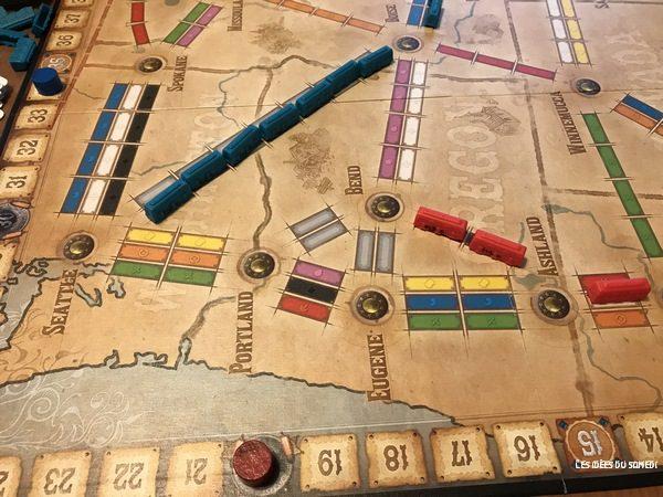 points aventuriers du rail oldwest