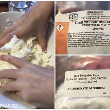 Bombes de bain ratées… réaction chimique réussie! #chimieamusante