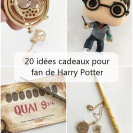 20 idees cadeaux fan harry potter