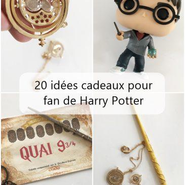 On offre quoi à une fan de Harry Potter? 20 idées cadeaux dès 1,99€
