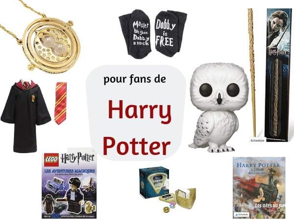 lliste cadeaux fan harry potter