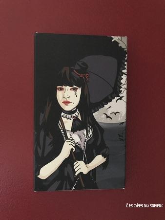 tableau personnalise manga